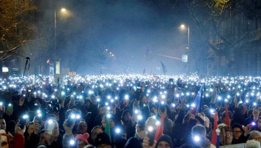 hungary - 17122018_budapest_protest