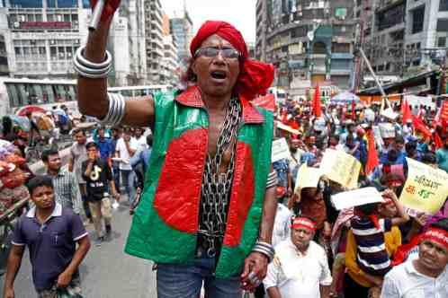Bangladesh Dhaka - Monirul Alam - EPA 5760