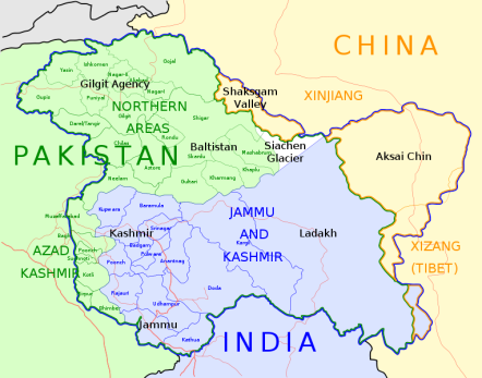 20190820Jammu-Kashmir-map