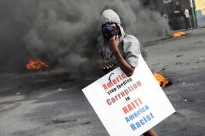 20191008 - HAITI-PROTESTS - Reuters