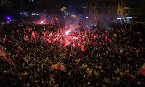 20191021 - Tripoli Sunday 20 Oct - Ibrahim Chalhoub - AFP