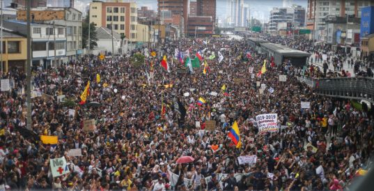National Strike In Colombia Against Ivan Duque