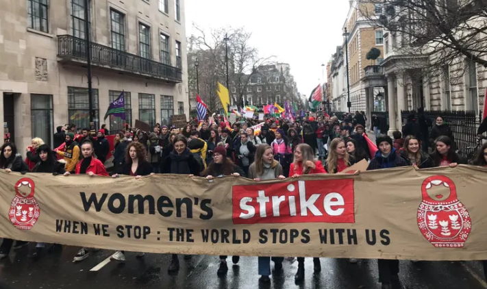 UK- London - Women's Strike