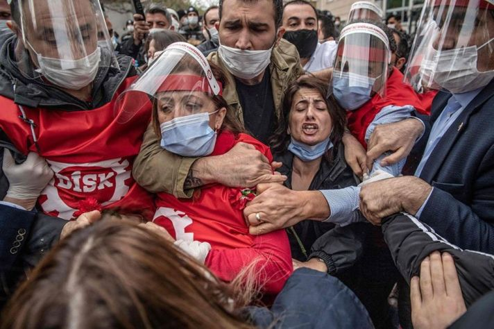Turkey - Taksim square - Istabul - Bulent Kilic - AFP