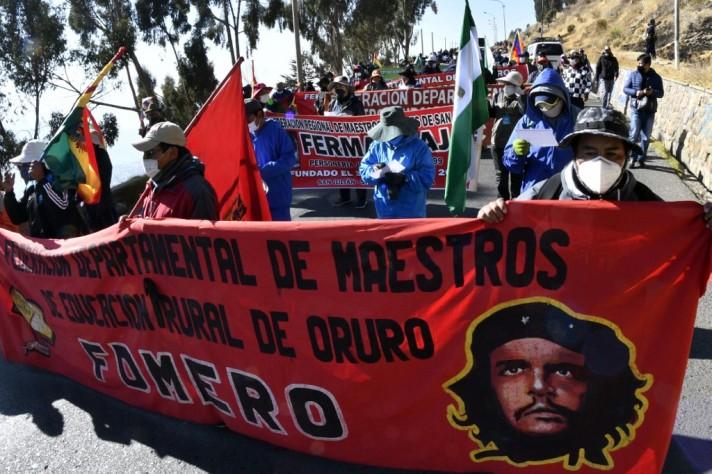 BOLIVIA-POLITICS-PROTEST